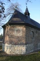 Achterzijde van kapel