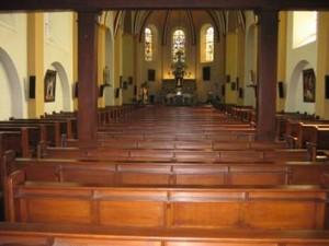 Petrus en Pauluskerk interieur