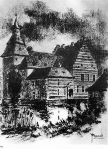 Kasteel Schaesberg tekening
