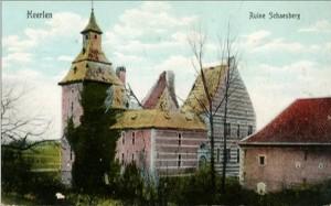 Kasteel Schaesberg woonhuis noord oost
